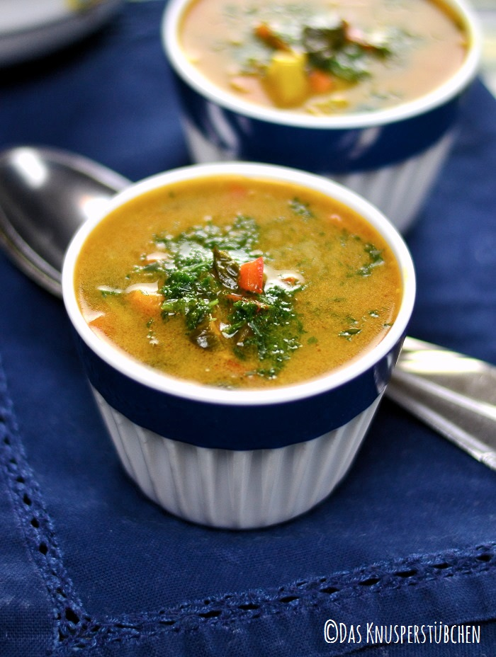 Curry Spinat Suppe 1-1