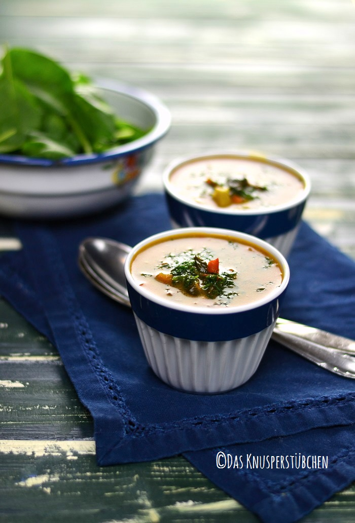 Curry Spinat Suppe 3-1