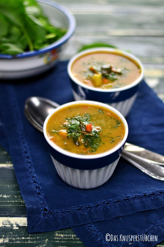 Curry Spinat Suppe 6-1