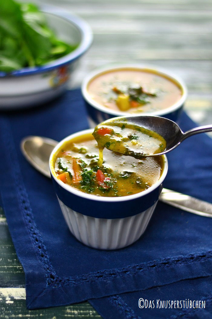 Curry Spinat Suppe 7-1