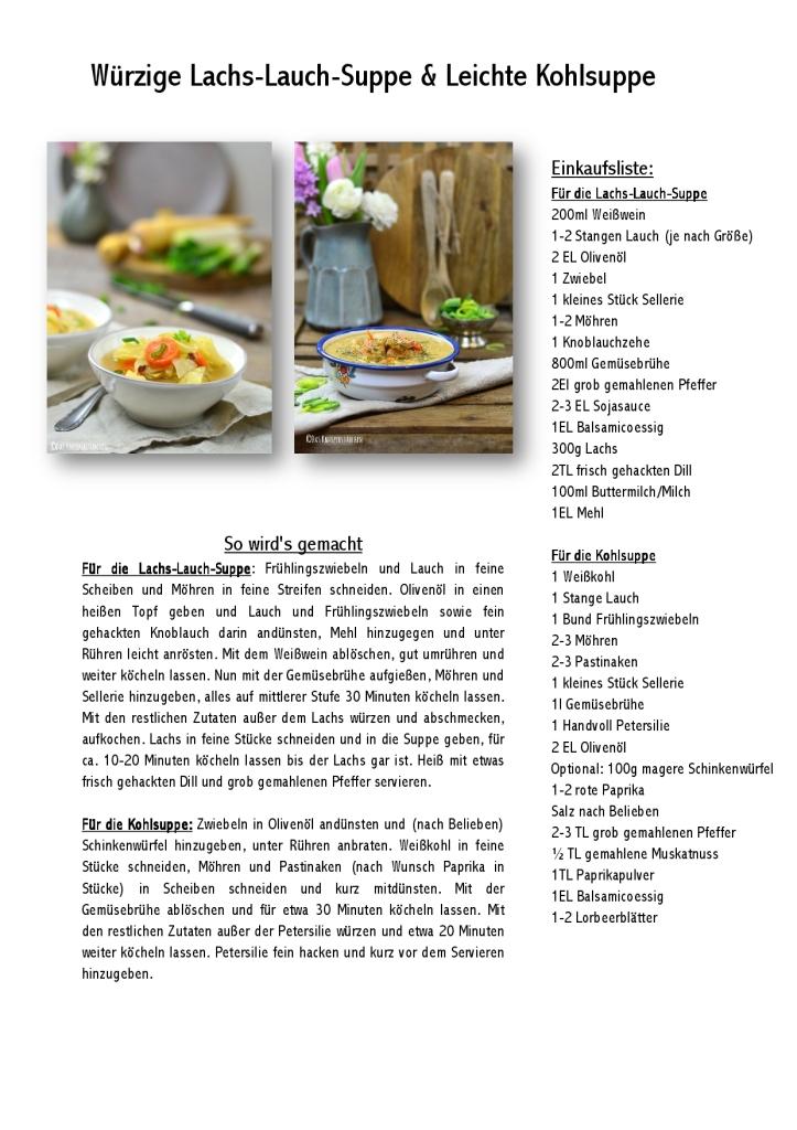 Lachs-Lauch-Suppe – Leek-Salmon-Chowder Rezept-001