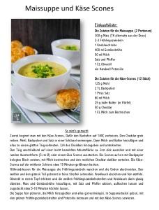 Maissuppe und Käse Scones-001