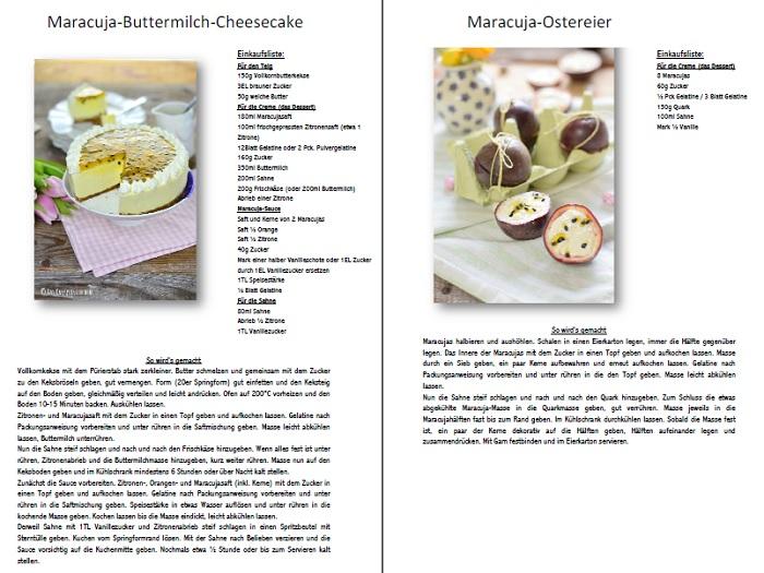 Maracuja Dessert Ostereier Rezept
