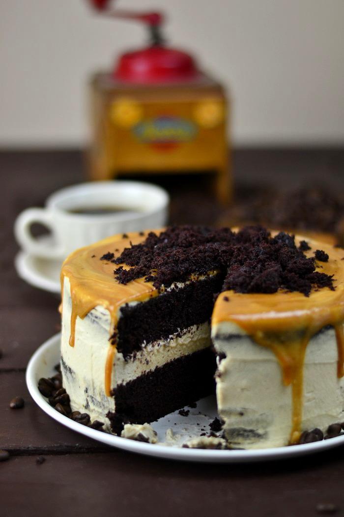 Mocha Cake Caramel 26-1