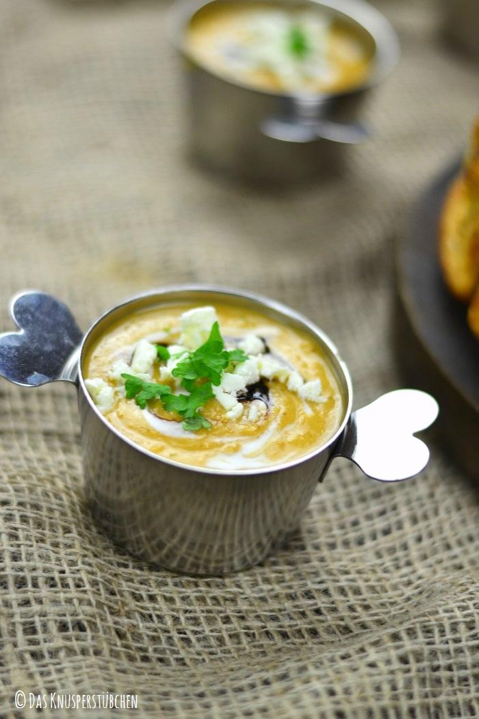 Suesskartoffel Linsensuppe mit Monkeybread-1