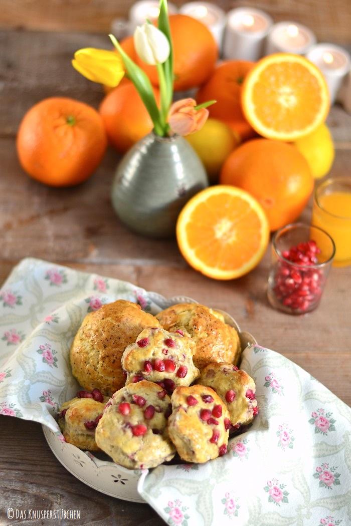 Bacon Ei oder Granatapfel Joghurt-Scones-1