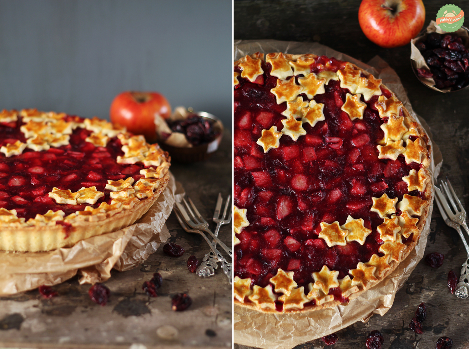 Oli Puhlskitchen Cranberry Pie