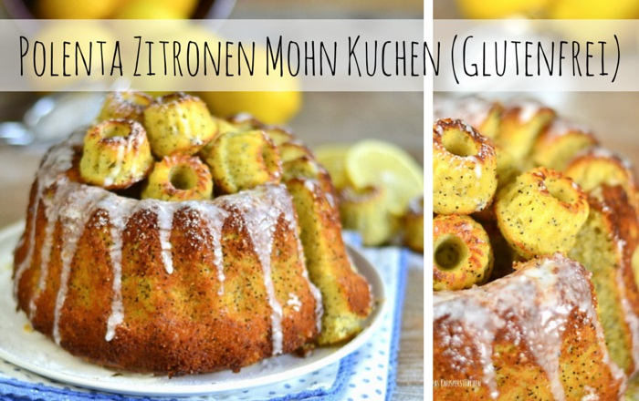 Polenta Zitronen Mohn Kuchen (Glutenfrei) – When life gives you lemons