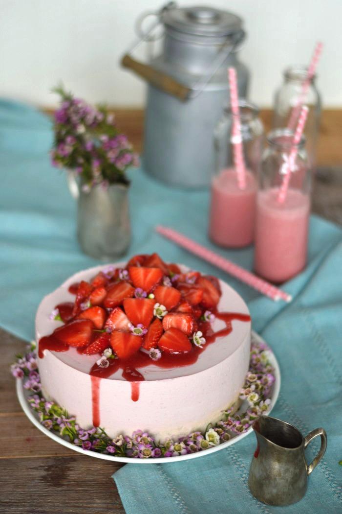 Erdbeershake Torte 16