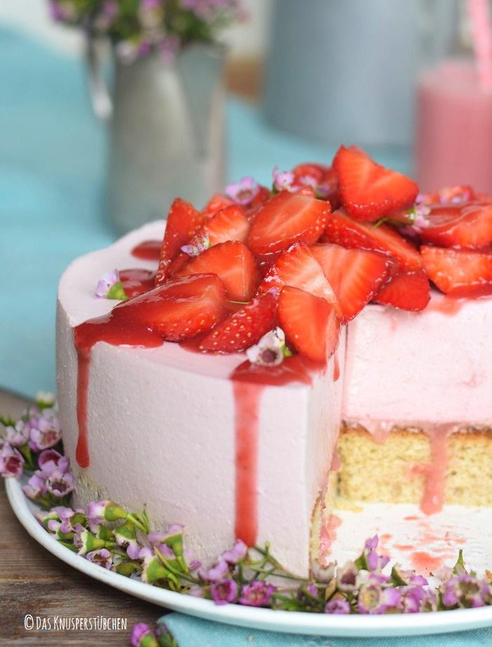 Erdbeershake Torte 27