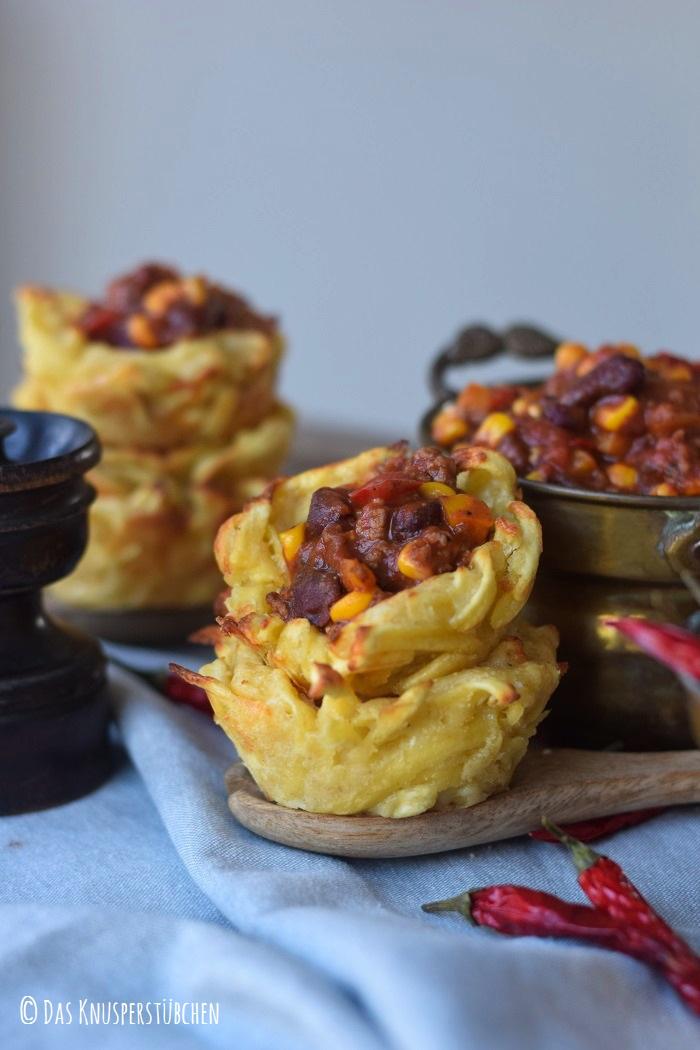 Spaetzle Chili Con Carne Cups 20