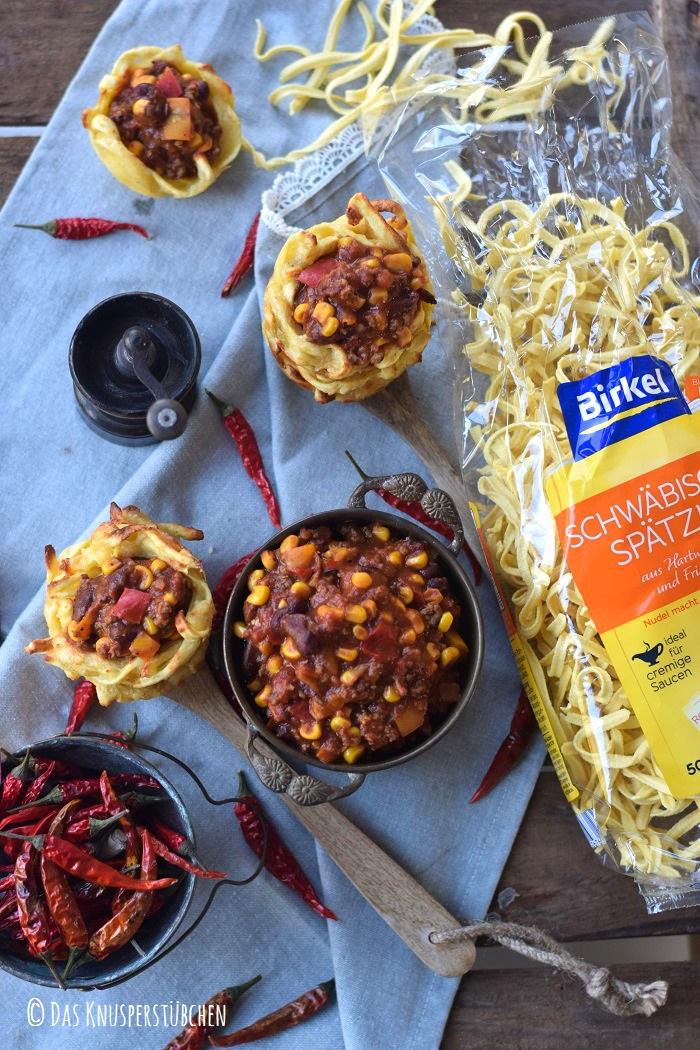 Spaetzle Chili Con Carne Cups 21