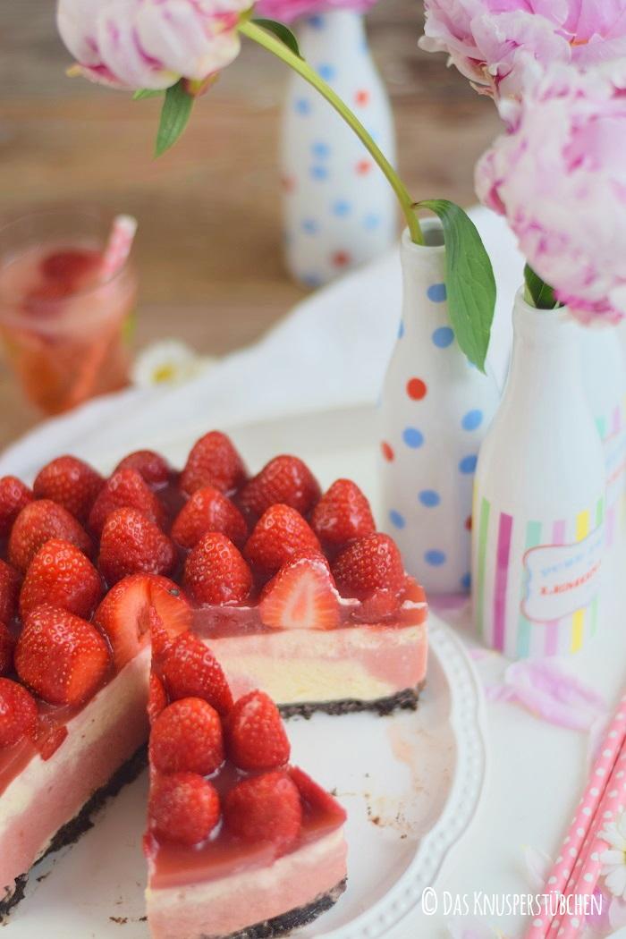 Erdbeer Katamell Cheesecake 21