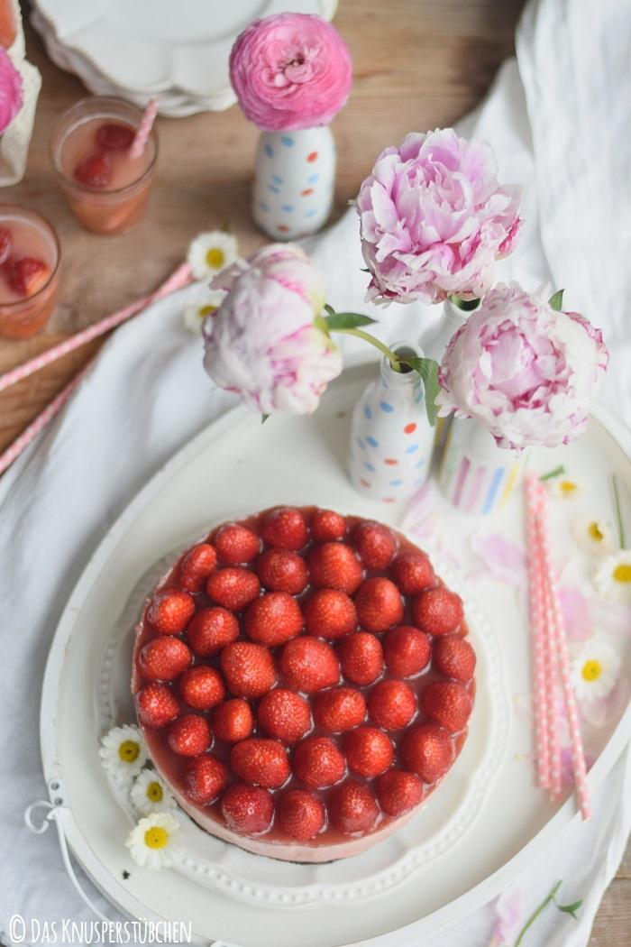 Erdbeer Katamell Cheesecake 6
