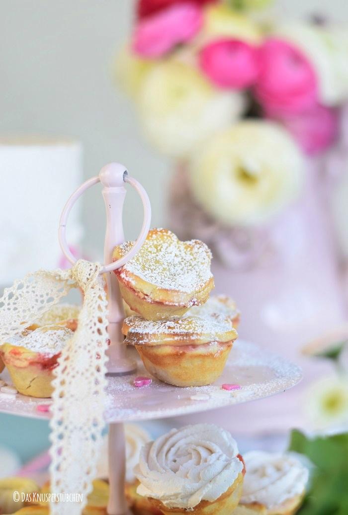 Erdbeer Mini Pies