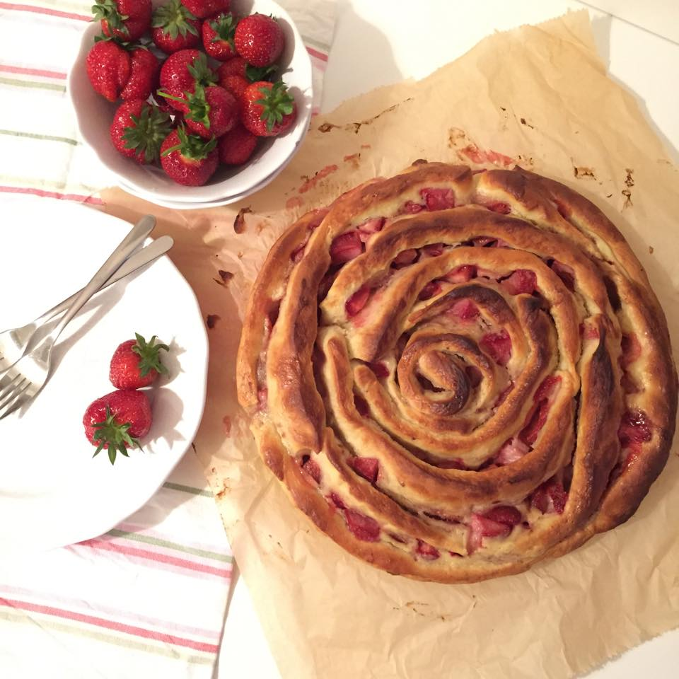 Anita Pinwheel Cheesecake Erdbeeren 2
