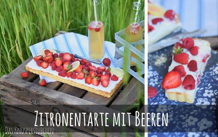 Zitronentarte mit Beeren – Sommerlich leicht