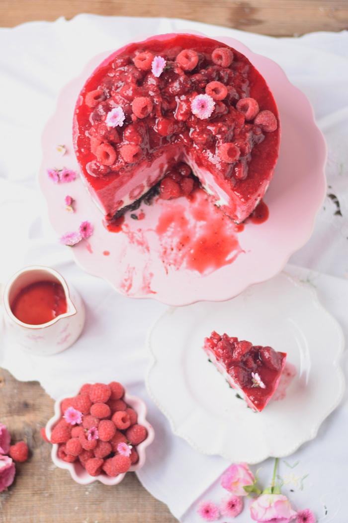 Himbeer Quark Torte 25