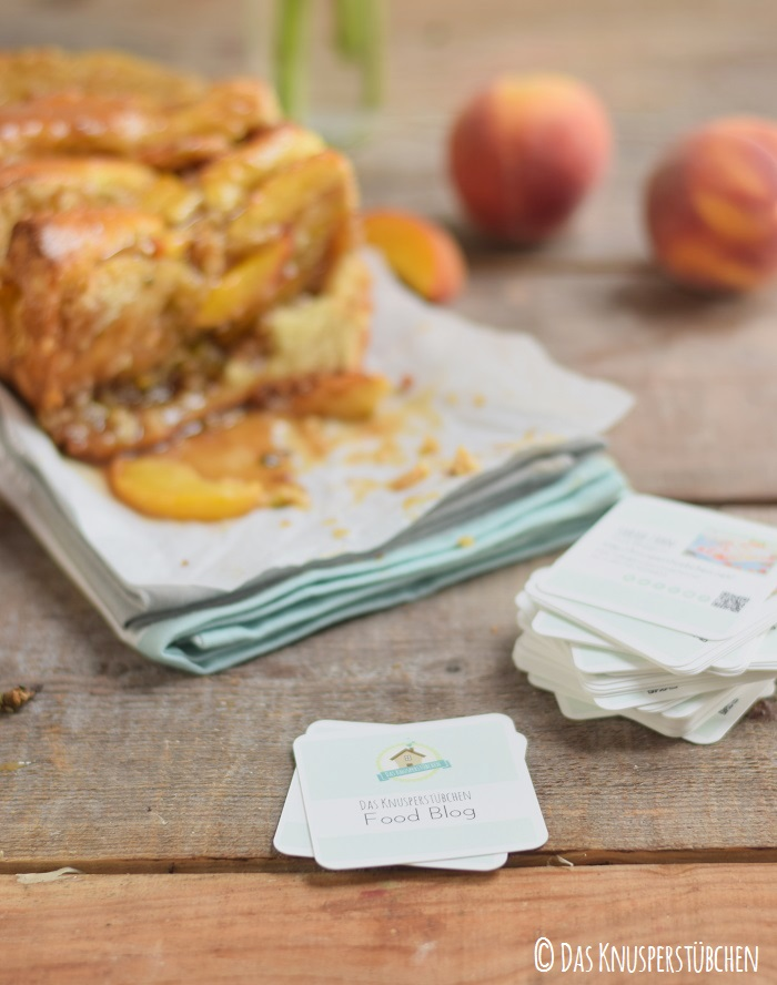 Peach Almond Brittle Pull Apart Caramel Bread 28