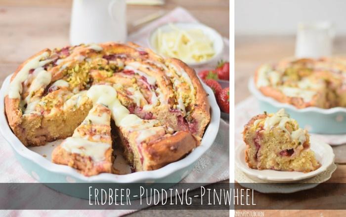 Erdbeer-Pudding-Pinwheel