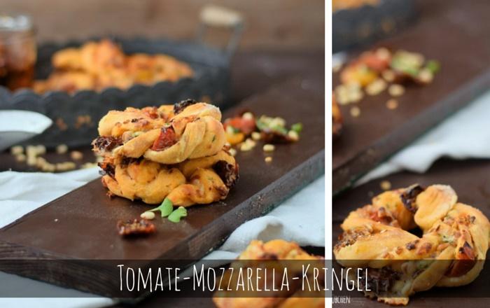 Tomate-Mozzarella-Kringel & Halbgetrocknete Tomaten