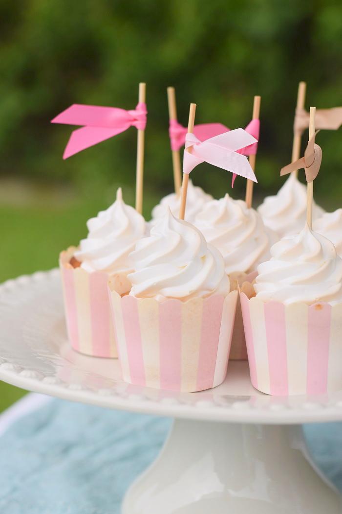 Zitronen Baiser Cupcakes 7