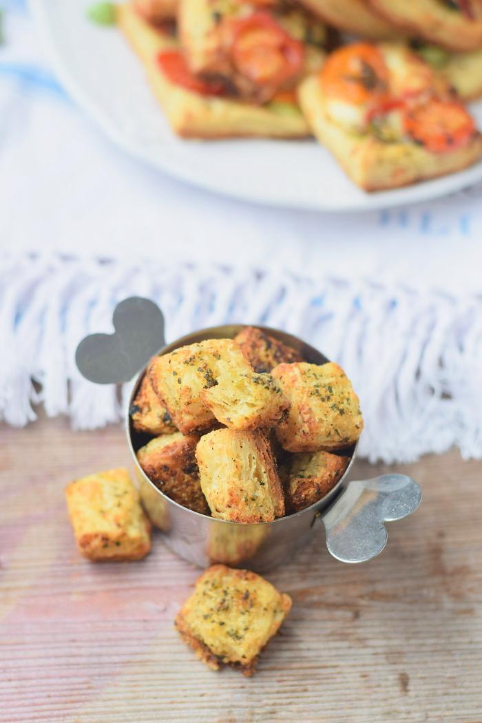 Blätterteig Selbstgemacht und Blätterteig Parmesan Bites 2