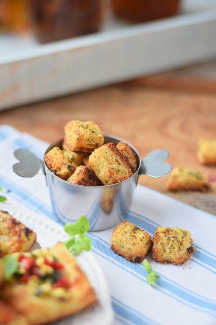 Blätterteig Selbstgemacht und Blätterteig Parmesan Bites