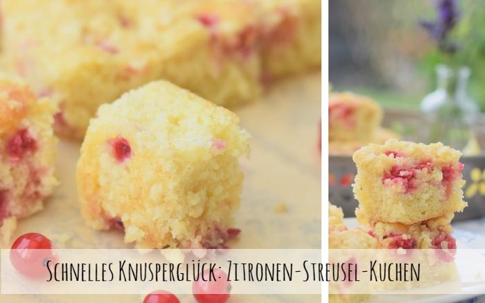 Zitronen-Streusel-Kuchen