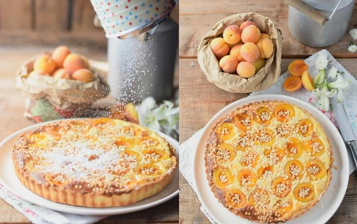 Aprikosen Joghurt Tarte: Sommerurlaub