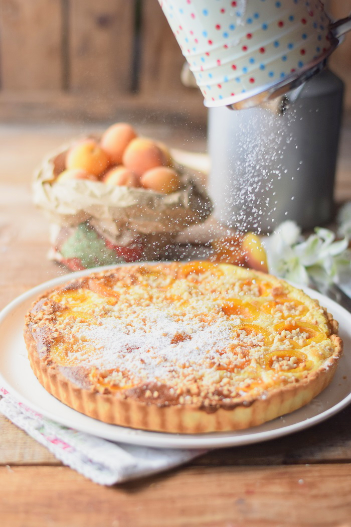 Aprikosen Joghurt Tarte 9