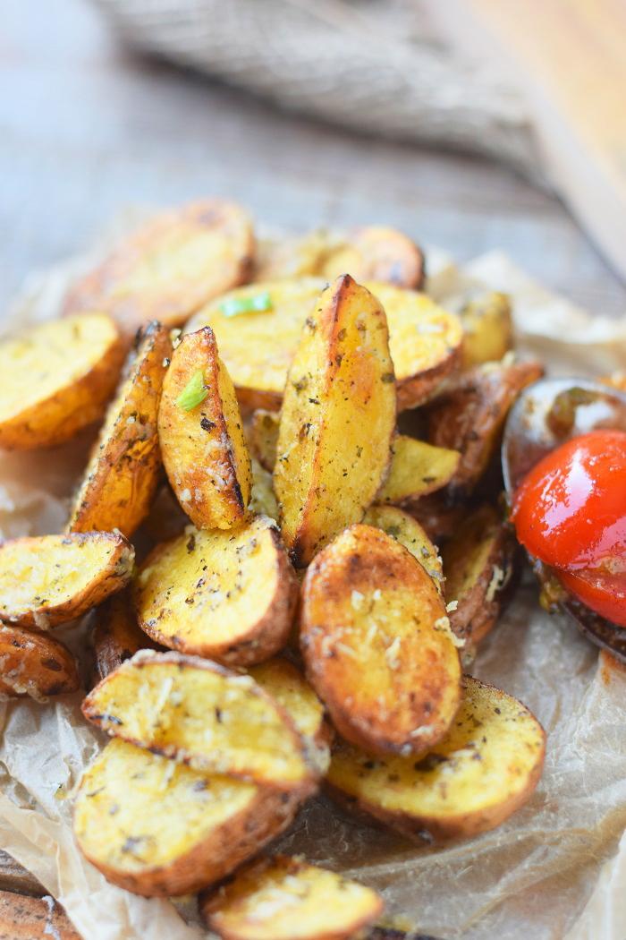 Ofenkartoffeln mit karamellisierten Tomaten 13