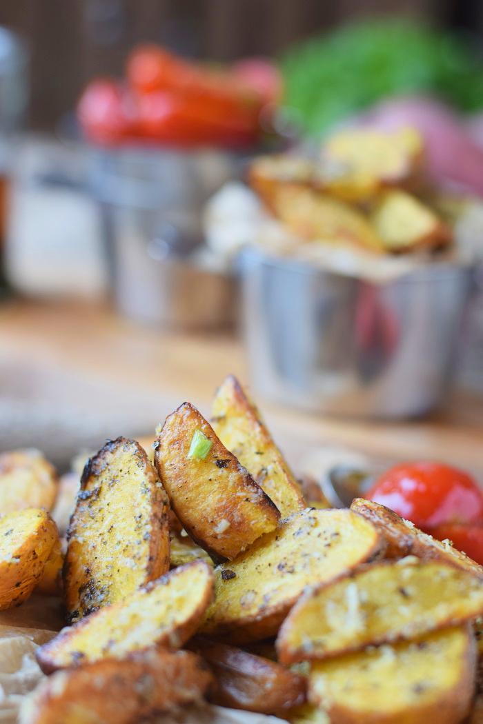Ofenkartoffeln mit karamellisierten Tomaten 15