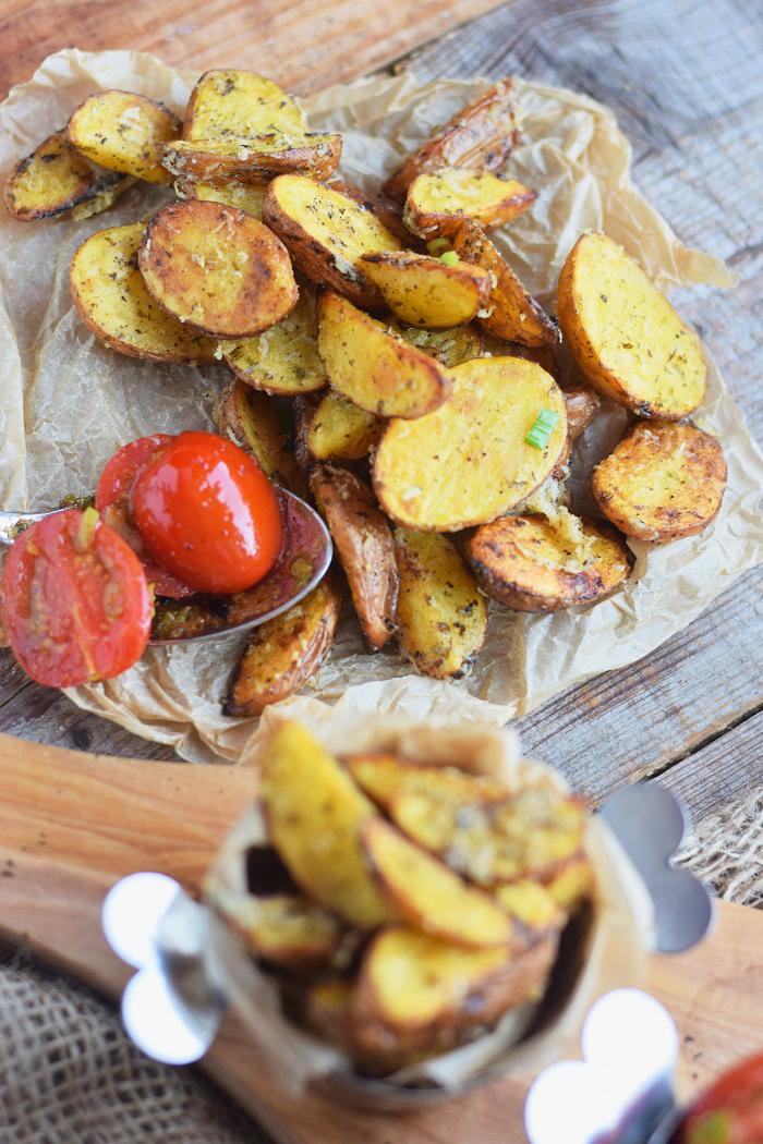 Parmesan Kartoffel Wedges