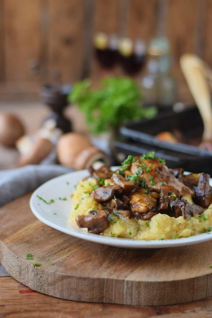 Madeira Chicken mit Kartoffelbrei (9)