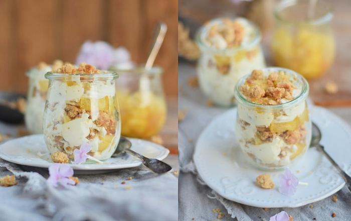 Bratapfel Dessert – Mit Knusper ins Wochenende