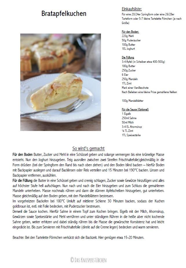 Bratapfelkuchen mit Ahornsirup Zimtsauce - Baked Apple Almond Tarte with maple syrup cinnamon sauce #herbst #fall #cake #applecake Rezept