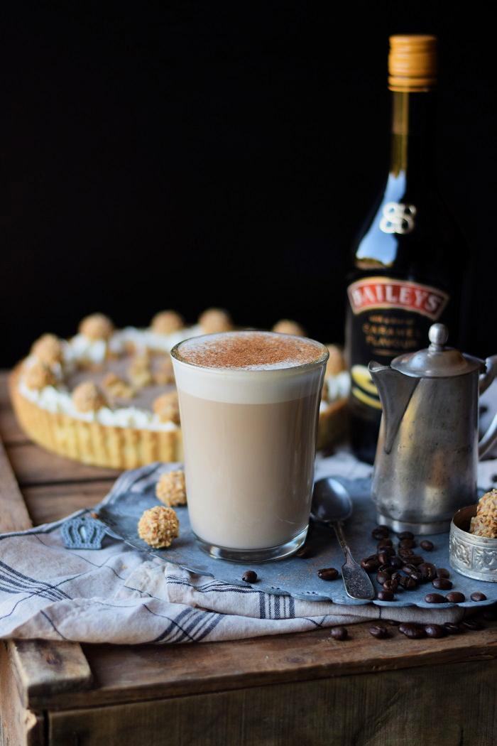 Nougat Tarte mit Baileys & Giotto Rezept (2)