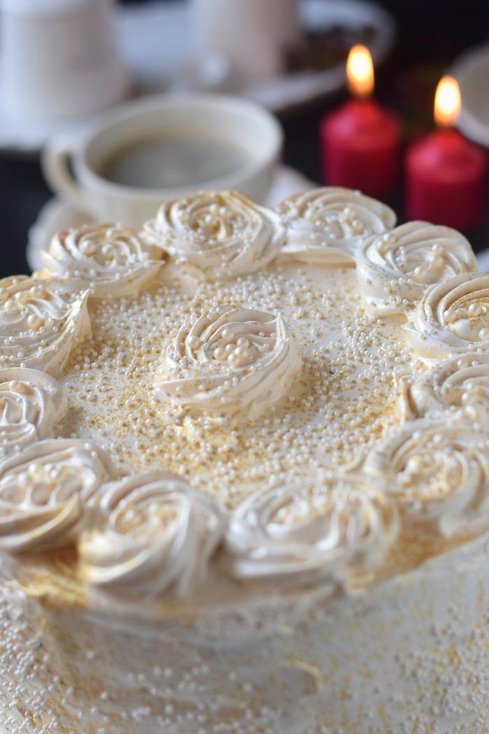 Bratapfel Creme Torte - Baked Appfel Birthday Cake (11)