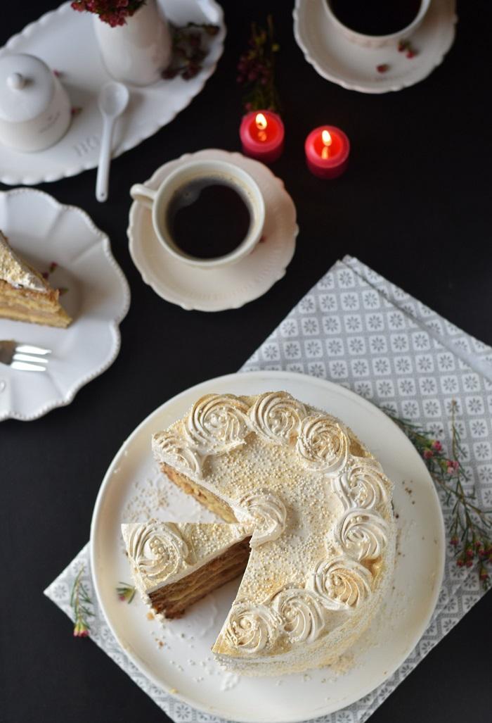 Bratapfel Creme Torte - Baked Appfel Birthday Cake (23)