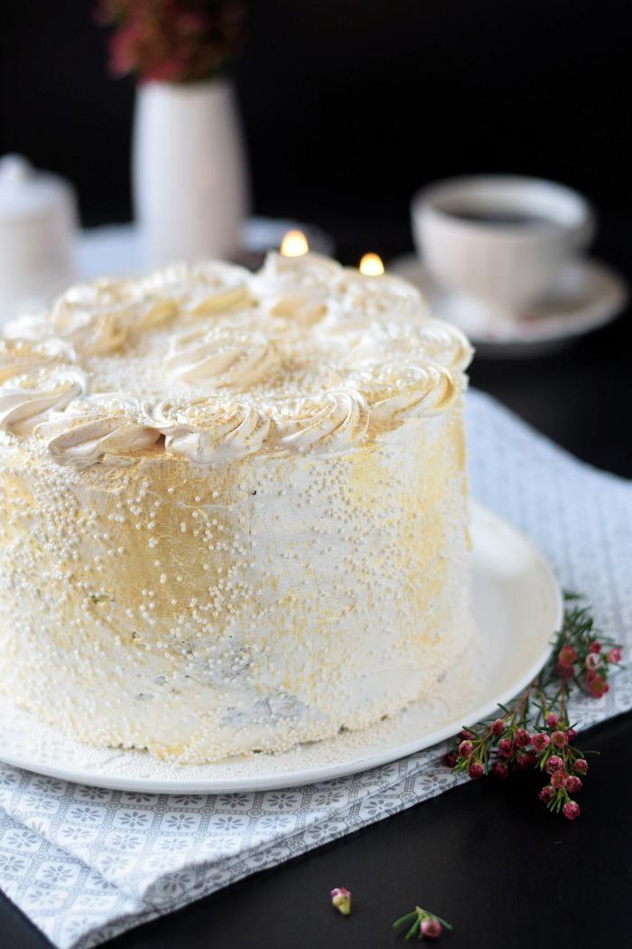 Bratapfel Creme Torte - Baked Appfel Birthday Cake (6)