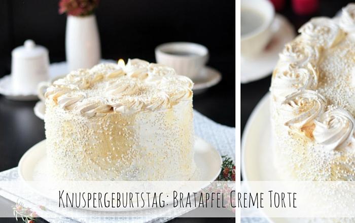 Bratapfeltorte - Baked Apple Birthday Cake