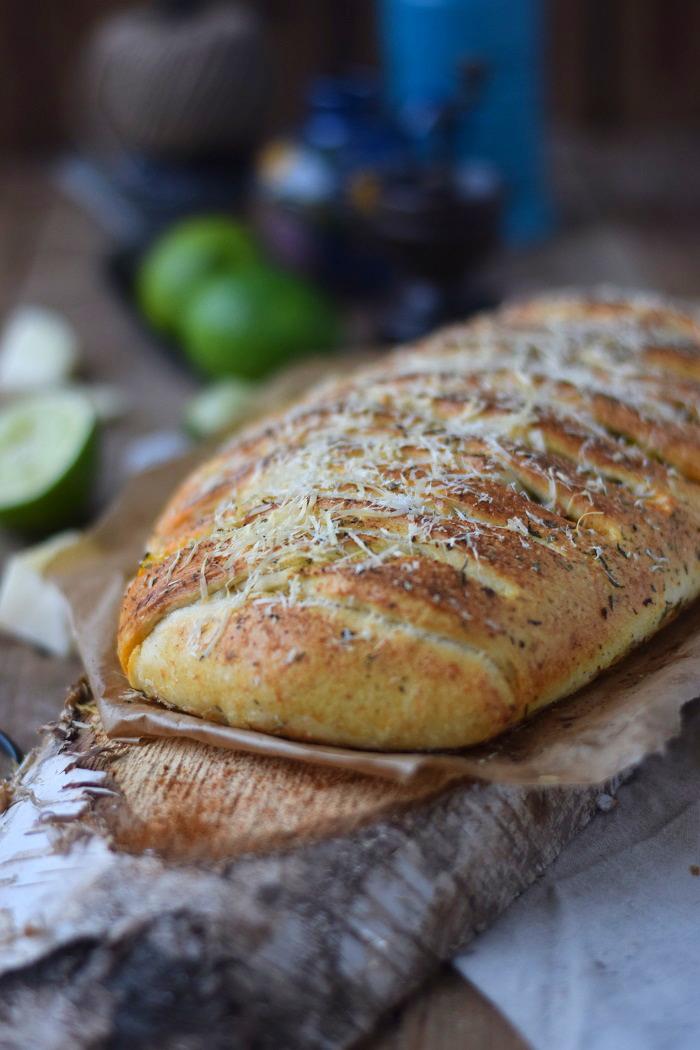 Enchilada Stromboli mit Chili con Carne (14)