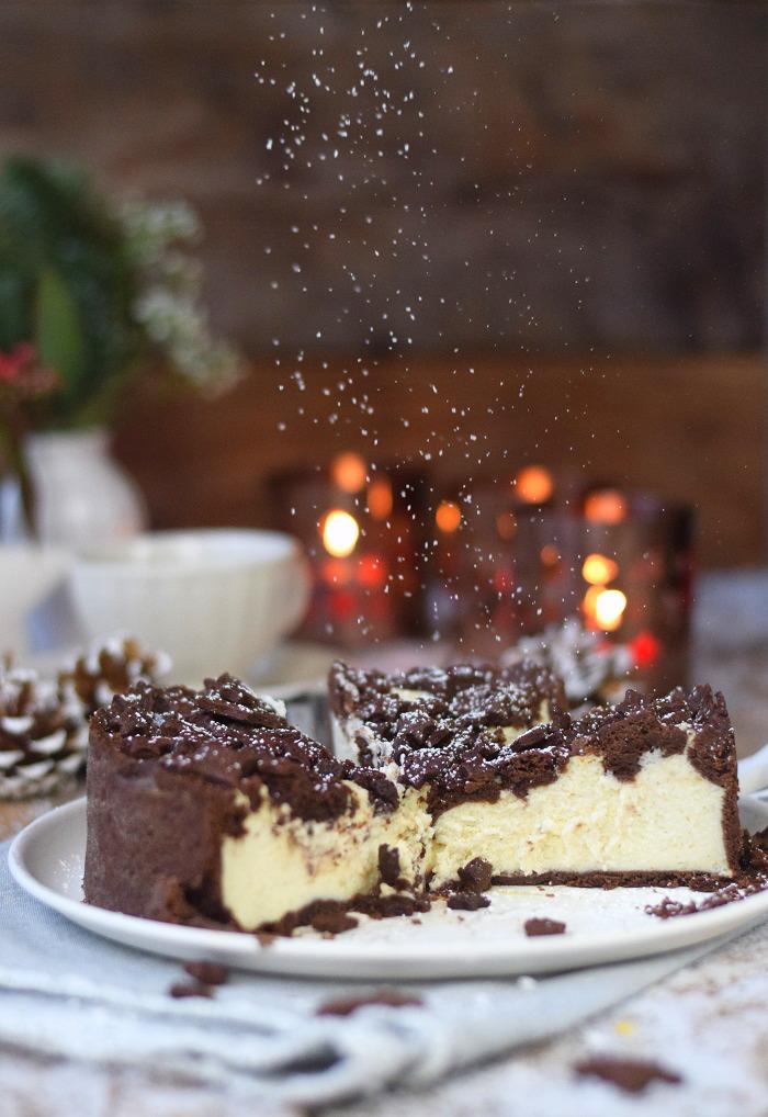 Winterlicher Weihnachtlicher Zupfkuchen mit Sternen (20)