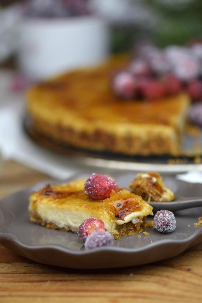 Zimt Brulee Tarte mit Honig und gezuckerten Cranberries (25)