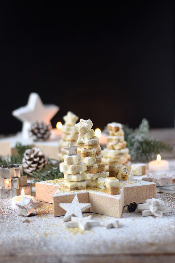 Baumkuchen mit weißer Schokolade - Tree Cake (23)