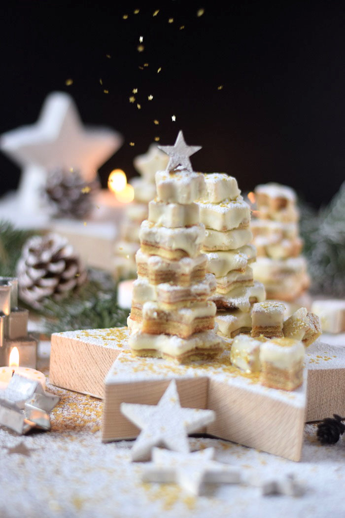 Baumkuchen mit weißer Schokolade - Tree Cake (8)