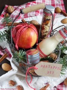 Bratapfel, Geschenk Set3