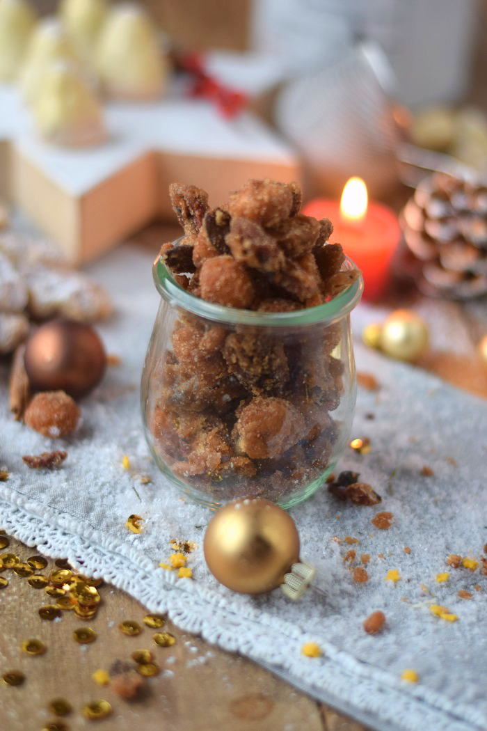 Knuspernüsse - Karamellisierte geröstete Nüsse (1)