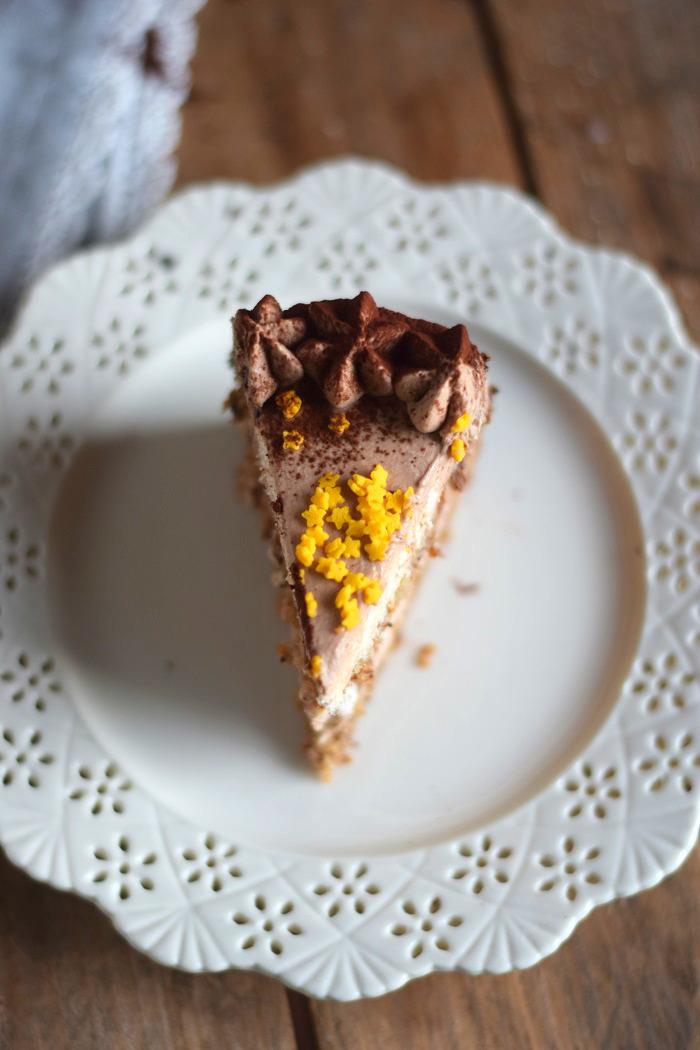 Nougat Marzipan Mousse Torte - Chocolate Marzipan Cake (18)